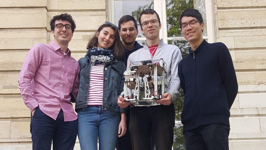 Photo de l'équipe MiAM Robotique
